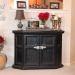 painted black furniture