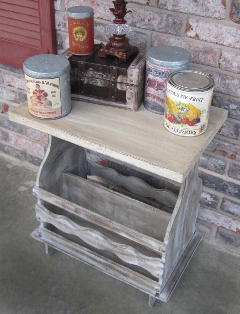 Driftwood Table 1st Project With Chalk Paint How To