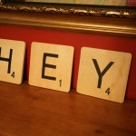 Cool Craft: Scrabble Name Tiles