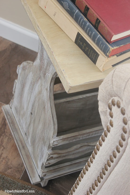 Completely new Driftwood Table: 1st Project with Chalk Paint - How to Nest for Less™ QJ13