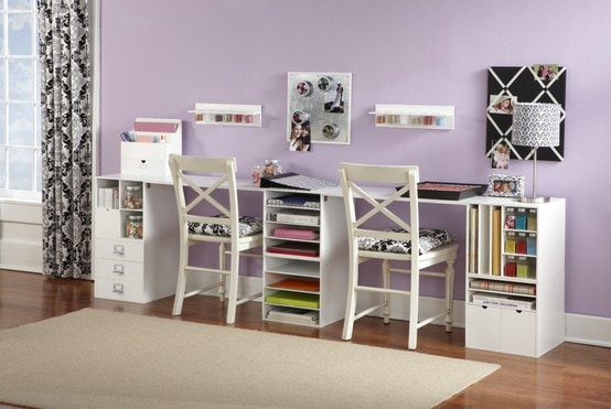 Finding inspiration craft room ideas how to nest for less - Small craft space ideas plan ...