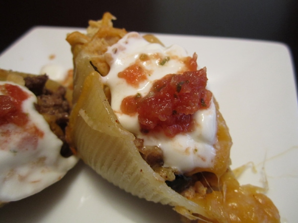 What's for Dinner: Mexican Taco Pasta Shells