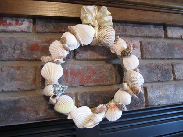Bringing the Beach Home: Seashell Wreath