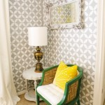 Full Steam Ahead: Stencil Ideas for {someday} Craft Room