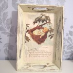 Vintage Nursery Rhyme Tray