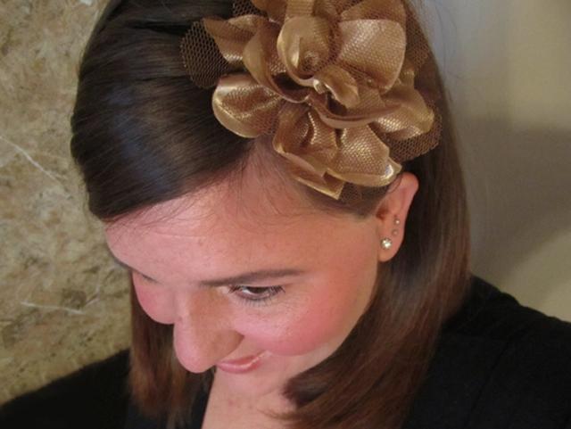Hair Happiness: Flowered Headbands