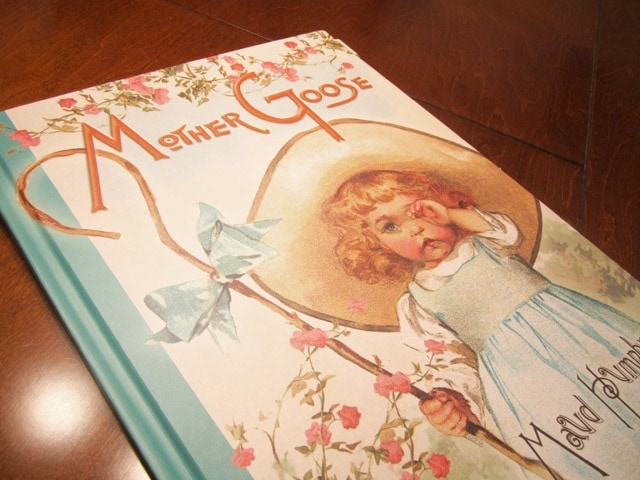 Mother Goose story book.
