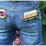 pocket change jean shorts