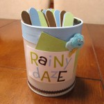 rainy daze activity jar finish