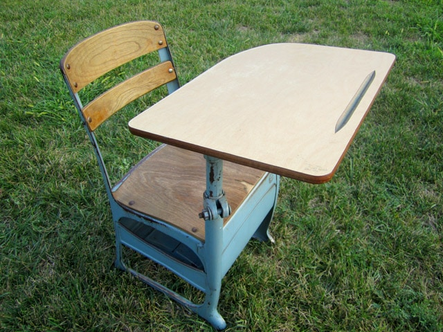 Fun Find: Taking an Old School Approach to a New Desk