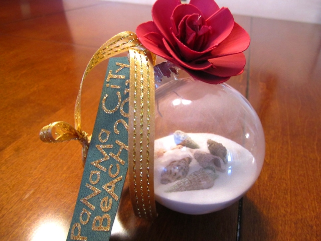 Bringing the Beach Home: Seashell Christmas Ornament