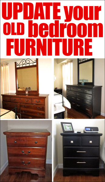 update your old bedroom furniture