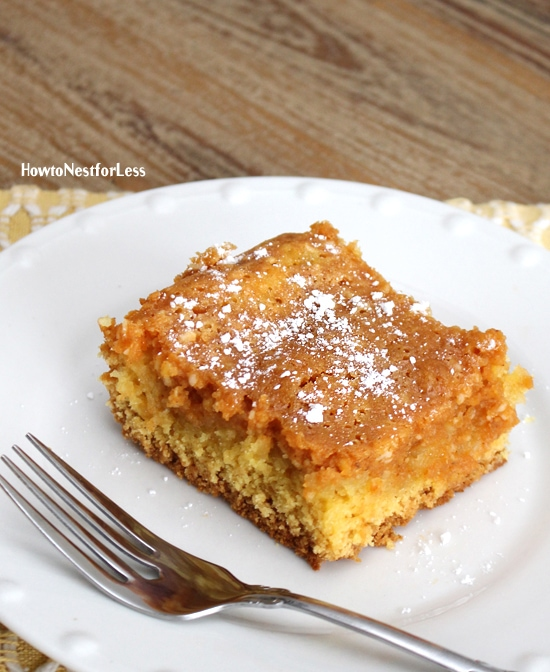 Fall Favorite: Pumpkin Gooey Butter Cake
