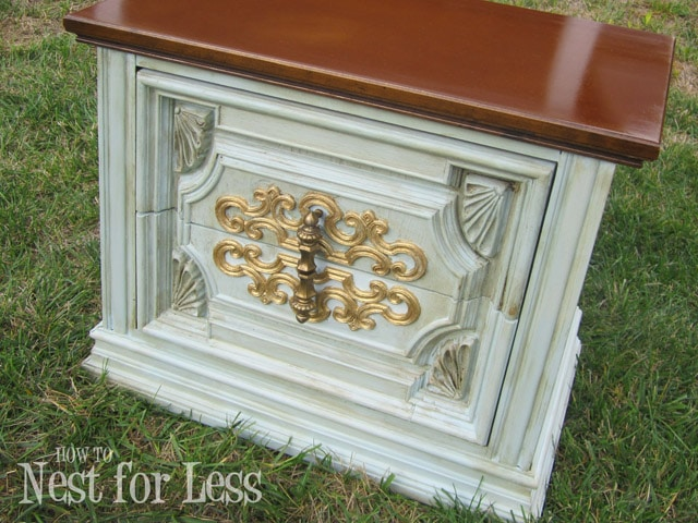 Annie Sloan Chalk Paint Accent Table How To Nest For Less