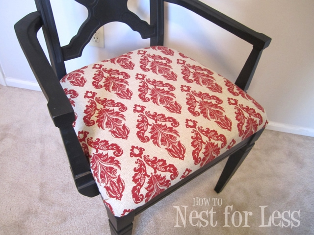 Re-do of a Re-do: Great Room Accent Chair