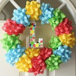 sesame street wreath