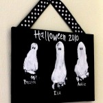 Halloween ghost craft project