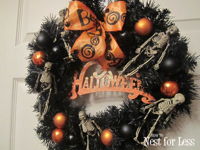 Spooktacular Halloween Wreath & Free Printable