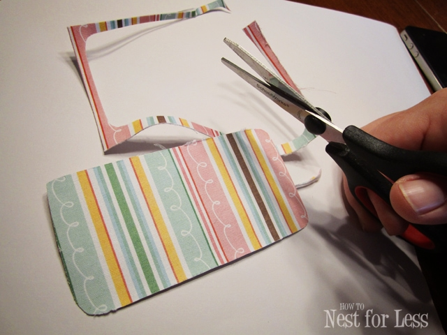 On The Cheap Scrapbook Paper Iphone Covers How To Nest For Less