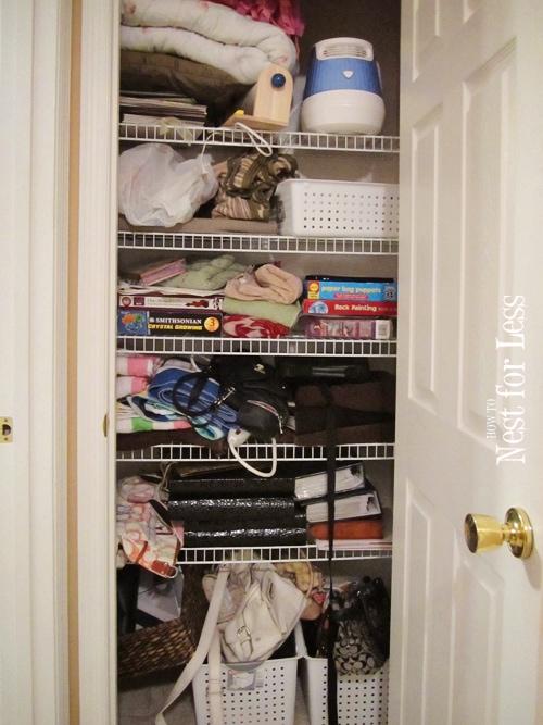 Clean House Organizing My Hall Linen Closet