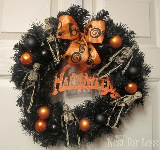Amazing And Spooky Halloween Wreath Ideas Themescompany