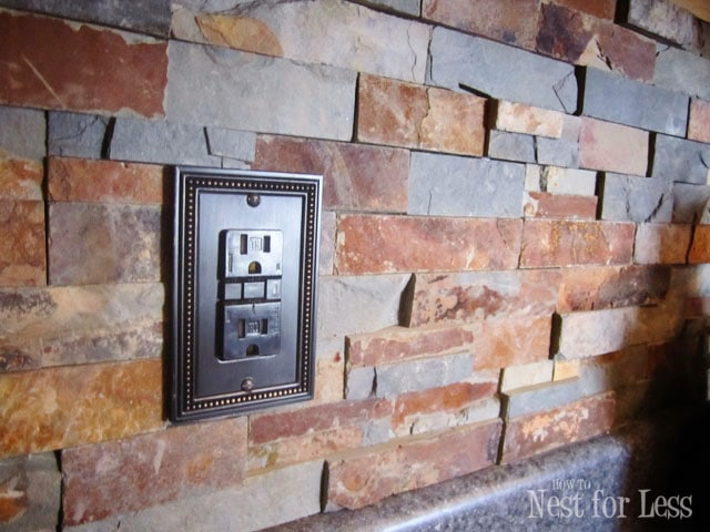 Stone Kitchen Backsplash How To Nest For Less