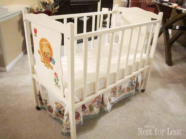 Trash to Treasure Revamped Baby Crib  How to Nest for Less
