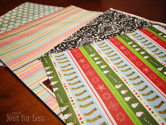 on the cheap scrapbook paper iphone covers how to nest for less  i