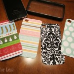 scrapbook paper iphone covers