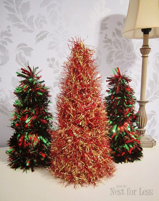 Minute tinsel christmas cones how to nest for less™