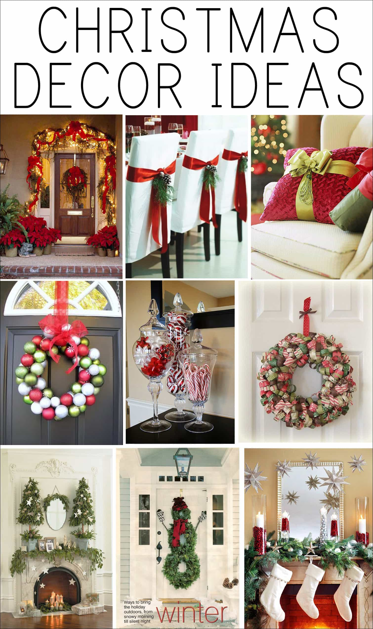 Christmas decorations ideas - photo#25