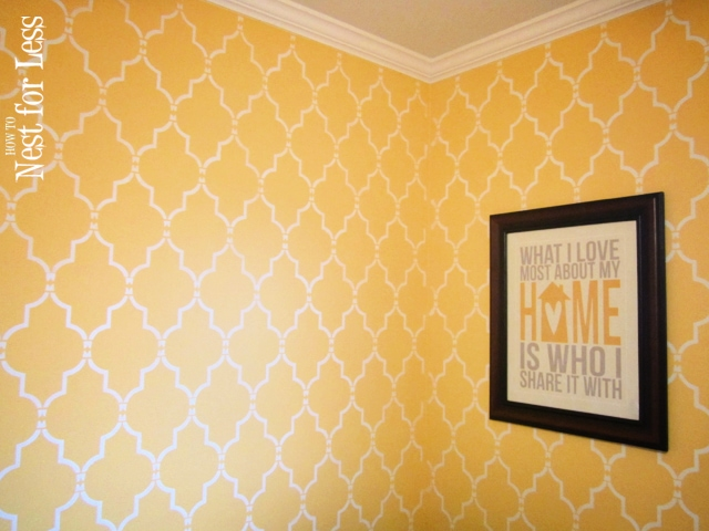 Luxury Wall Stencil Ideas Collection - Wall Art Collections ...