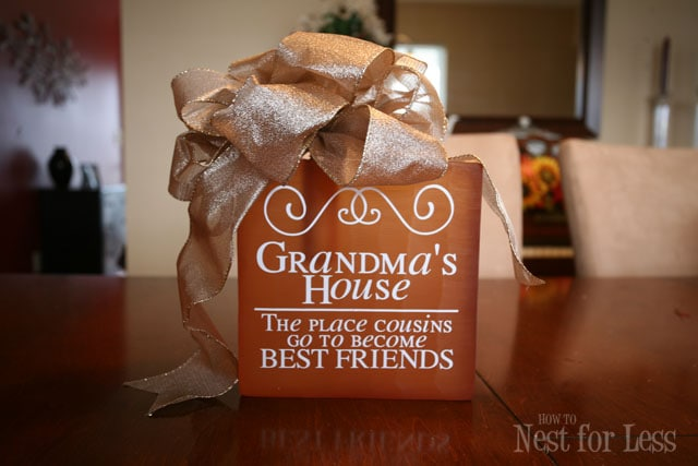 Personalized Birthday Gift For Grandma S House How To