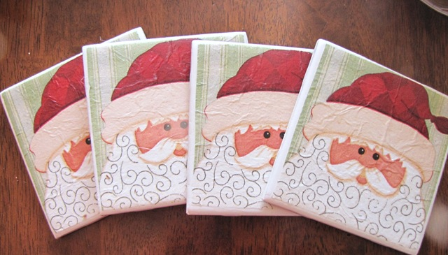 Handmade Tile Coasters From Party Napkins How To Nest For Less