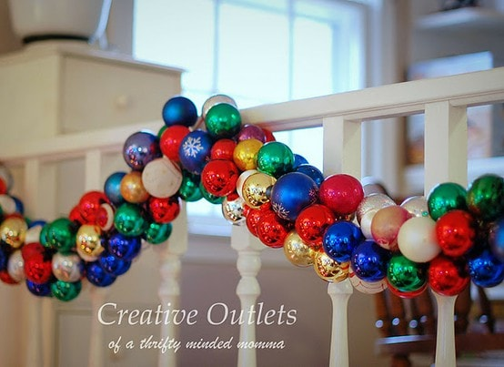 Christmas Ball Garland.Pinterest Project Christmas Ornament Garland How To Nest