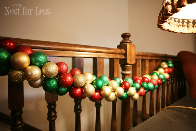 Pinterest Project: Christmas Ornament Garland
