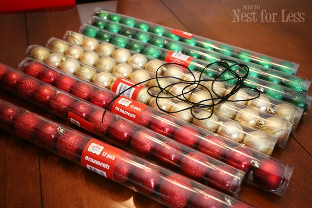 Pinterest Project: Christmas Ornament Garland - How to Nest for Less™