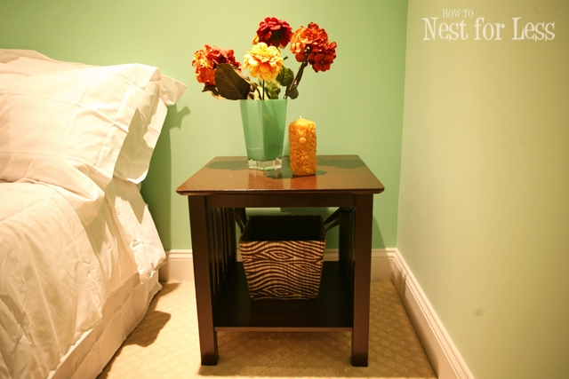 Trash to Treasure: End Tables for Guest Bedroom