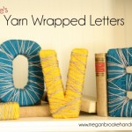 LOVE Yarn Wrapped Letters {From Megan Brooke Handmade}