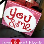 You & Me Block {from Ginger Snap Crafts}
