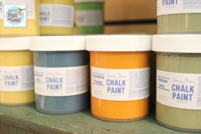 annie sloan chalk paint samples