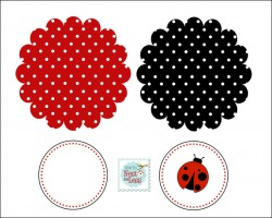 Ladybug birthday party with free printables how to nest for less click here birthday garland solutioingenieria Choice Image