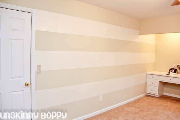 How To Paint Wall Stripes Pictures Pin On Pinterest