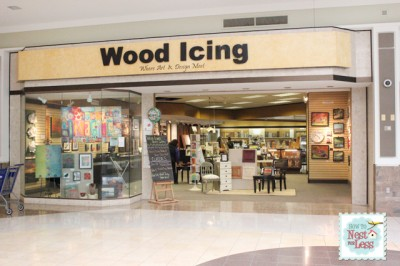 wood icing exterior