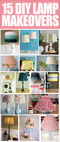 15 LAMP MAKEOVER IDEAS