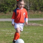 Kickin' It: My Kiddo's First Soccer Game!