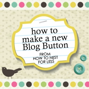 Photoshop Tips & Tricks #4: How to Make a Blog Button {Using Stock Images}