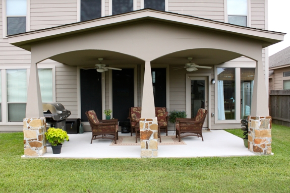 Affordable Comfortable With Back Patio Ideas.