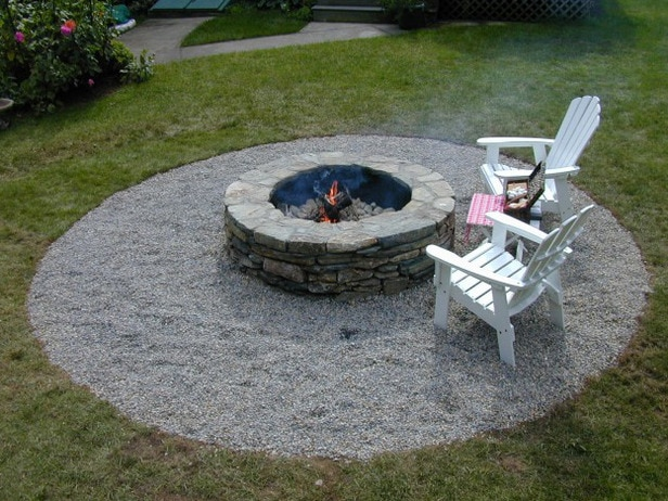 Make your own Paver Firepit from DIY Network