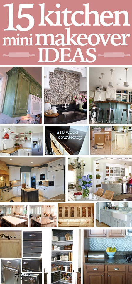 kitchen mini makeover ideas
